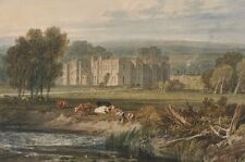Photo Print Reproduction View Of Hampton Court Herefordshire From Southeas