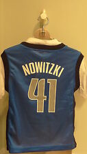 NWT NBA Dallas Mavericks Dirk Nowitzki 2-in-1 Jersey/Tee - Youth Sizes 4-18