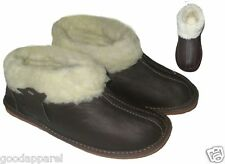 LADIES WOMENS GIRLS  Sheepskin genuine leather sheep wool BOOTS BOOTIES Slippers