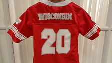 NWT NCAA Wisconsin Badgers Mesh Infant/Toddler Team Jersey: Sizes 12 mos-4T