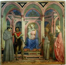 Altarpiece St Lucia De Magnoli Domenico Veneziano 1447 Art Print (Poster/Photo s