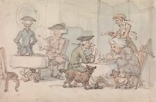 Photo Print Reproduction Diners Chop Shop Thomas Rowlandson Other Sizes Av