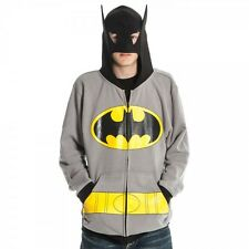 BATMAN DC Comics S M L XL XXL Zipup Hoodie Sweatshirt NEW Dark Knight costume