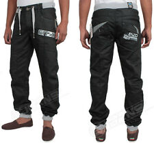 NEW MENS ENZO EZ132 DESIGNER JOGGER JEANS. BNWT. *LATEST ARRIVALS*