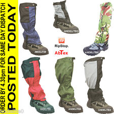 Walking Gaiters Hiking Climbing Waterproof  Ripstop XTP Gaiter Gaytor Gayter NEW