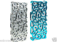 Hollow Flower Pattern Radiating Hard Plastics Cases Back Cover for iPhone 5