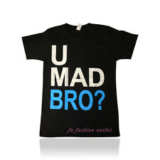 Men's Funny T-Shirt U Mad Bro ? All size  Fast Free Shipping In USA
