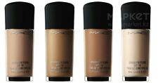 MAC STUDIO FIX FLUID SPF15 FOUNDATION~FULL SZ 1 OZ/30ML~100%AUTHENTIC~NEW IN BOX
