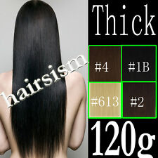 24~30INCH,REMY CLIP IN 100% HUMAN HAIR EXTENSIONS,VERY LONG THICK,FULL HEAD