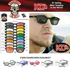KD's Original Motorcycle Riding Glasses Sunglasses - All Styles and Colors