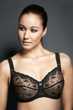 Brand New Fauve Lingerie Brianna Full Cup Bra Black RRP £48 0032 VARIOUS SIZES