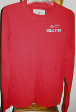 Hollister HCO Mens LS Tees & Henley S M Various Colors & Styles NEW up to $34