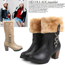 Women chain Fur Boots(#520)