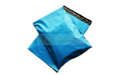 """Blue Plastic Polythene Poly Mailing Bags 13x19"""" Postage Pouches CHOOSE YOUR QTY"""