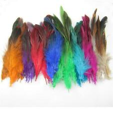 New Fashion mixed Colors Feathers hair for extensions 6-8inch long Pick Quantity