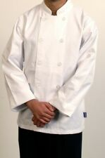 Standard Chef Jacket (Long Sleeve, White, Button Fastening, Unisex )