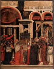 Photo Print Rediscovery of the Relics of St Mark Paolo Veneziano - in various si