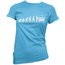 Evolution of Man Bay Window camper owner Womens / Ladies T-Shirt / gift VW S-XXL