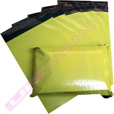 """YELLOW POSTAGE MAILING BAGS 14 x 20"""" MAIL POST SACKS CHEAP *MULTI ITEM LISTING*"""