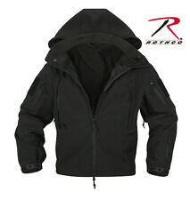 Rothco 9767 SPECIAL OPS TACTICAL SOFTSHELL JACKET - BLACK
