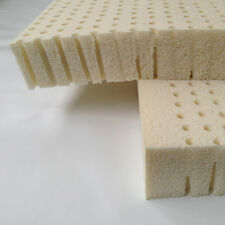 "LATEX MATTRESS TOPPER CUSHION  -  ANY SIZE - ANY FIRMNESS  - UP TO 3 "" THICK"