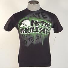 Metal Mulisha Slim Fit Signature Graphics Black Short Sleeve Tee Shirt Mens NEW