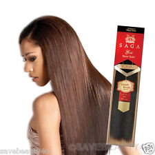 "10S"" Saga Gold Remy Yaky Premium Quality 100% Human Hair Weave Hair Extensions"