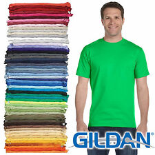 100 Gildan T SHIRT BLANK BULK LOT Colors Mix Match White Plain S-XL Wholesale