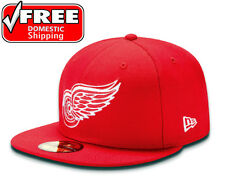 New Era 59FIFTY DETROIT RED WINGS Red Team National Hockey League 5950 NHL Hat