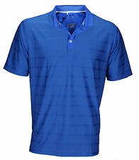 Adidas Mens CoolMax Climacool Textured Solid Athletic Short Sleeve Polo Shirt