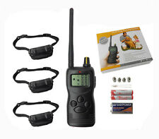1000M Remote Pet Dog Training Collar System No Bark Collar For 1 2 or 3 Dogs