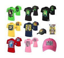 John Cena Authentic WWE T-Shirts Many Styles - Free Shipping!