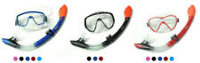 Two Bare Feet Silicone Mask & Dry Top Snorkel Set