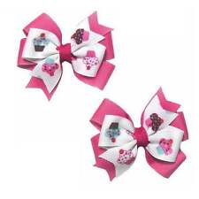 Cupcake Toddler Hair Bow Set (4 Colors Available)