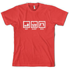 Eat Sleep Boxing - Mens Boxer T-Shirt - 10 Colours - Free UK delivery!