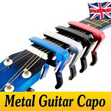 Metal Spring Trigger Quick Release Guitar Capo Clamp Electric Acoustic Guitar