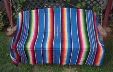Sarape Serape Mexican Blanket, Saltillo Southwestern Afghan Throw