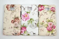 Chic Vintage Rose Flower Pattern Hard Leather Case Cover Samsung Galaxy S2 i9100