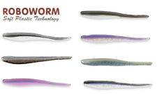 """ROBOWORM ALIVE SHAD 4"""" 8 PACK select colors"""