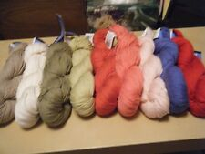 Berroco Yarn Weekend Worsted Weight 205 yd hanks Cotton/Acrylic many colors