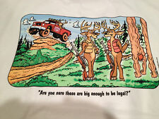 """Are they legal?""  T-Shirt for the Deer Hunter with a Sense of Humor"