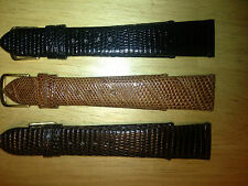 XOXO Genuine Stichless Lizard watch band, price is for one band