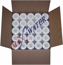"""(50) 10""""x2.5"""" Reverse Osmosis / Whole House Sediment Water Filter 1 or 5 Micron"""