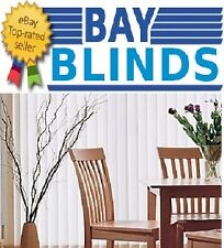 Made to Measure Shantung Vertical Blinds in Magnolia or White Best on Ebay