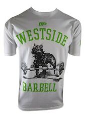 MUSCLEPHARM WESTSIDE BARBELL GYM T SHIRT WHITE SIZE: S, M, L, XL, 2XL