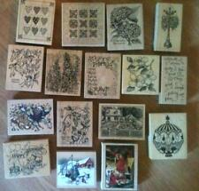 PSX rubber stamps U-Pick!  All large K-series, botanical and more!