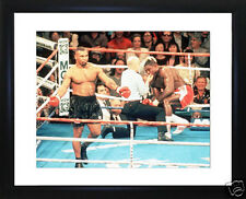"""Frank Bruno Mike Tyson  Framed Photo 28cm x 33cm (11""""x13"""") Click image for more"""