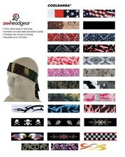 Zan HeadGear Cooldanna Sweat Band Bandana Headband Riding Motorcycle Band Danna