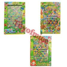 English Learning Pad Computer Tablet Education Machine for Kids Gift Boy Girl
