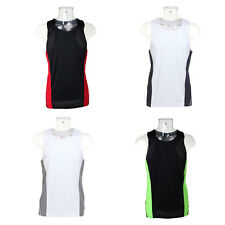 New GAMEGEAR Mens Sports Fitness Running Jogging Cool Vest in 5 Colours XS - XXL